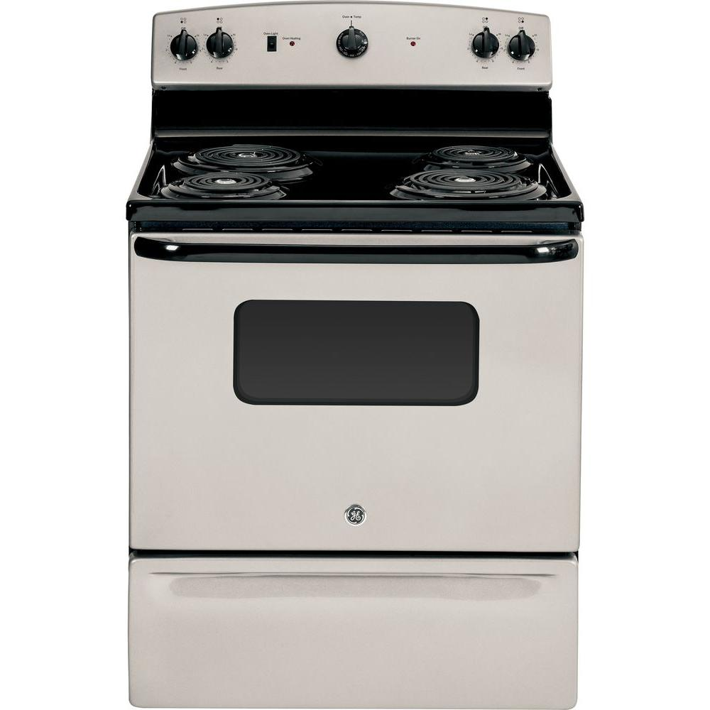 hight resolution of ge 30 in 5 0 cu ft electric range in silver