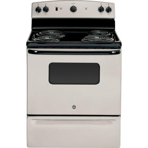 small resolution of ge 30 in 5 0 cu ft electric range in silver