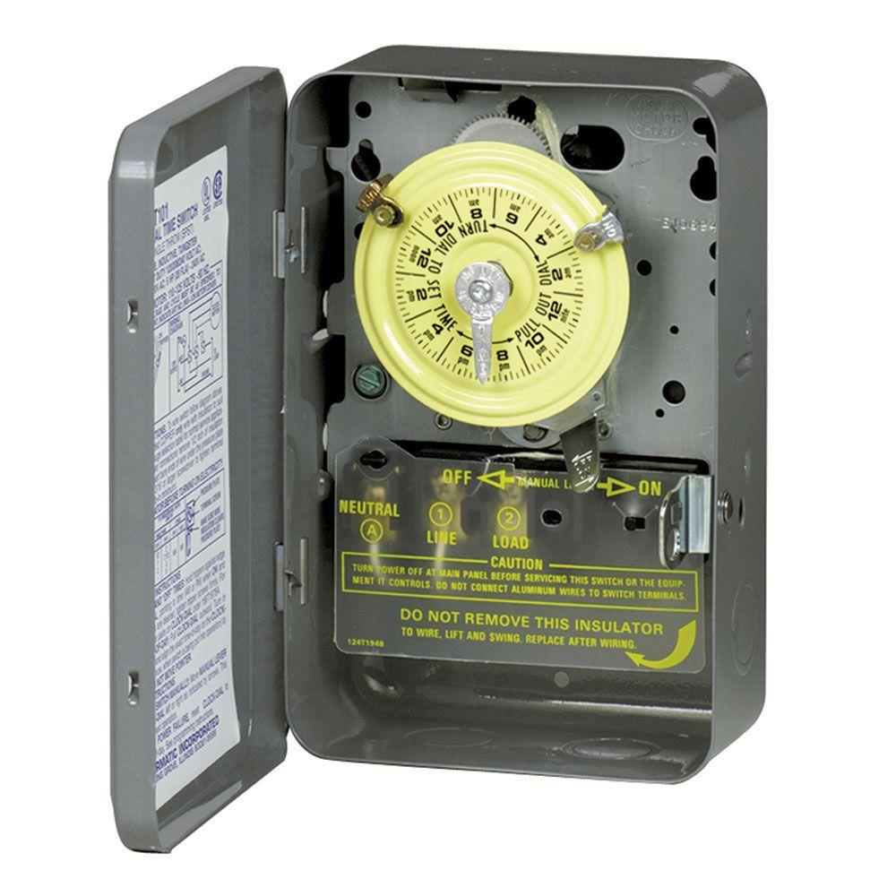 medium resolution of intermatic t102 40 amp 24 hour mechanical time switch with indoor wiring diagram intermatic t102