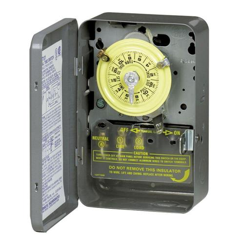 small resolution of intermatic t102 40 amp 24 hour mechanical time switch with indoor steel enclosure gray