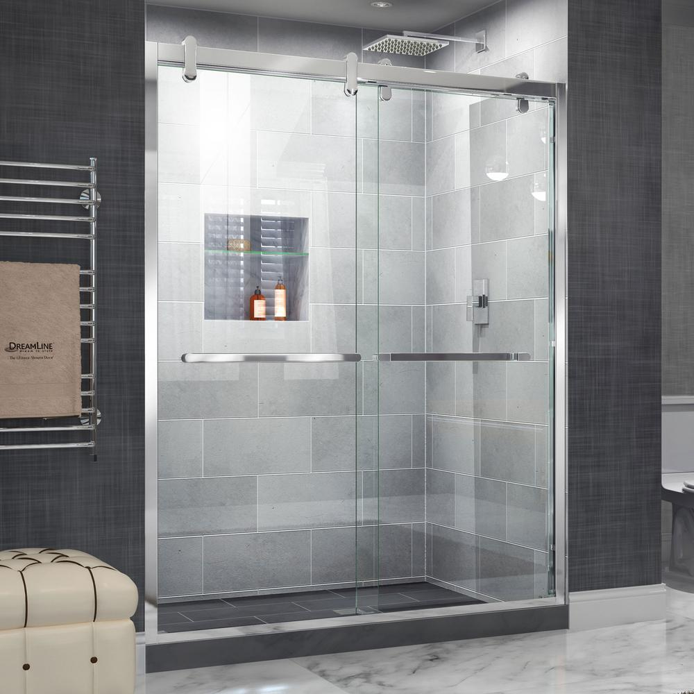 Image Result For Frameless Sliding Door Shower Enclosure X