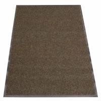 Rubber-Cal Ribbed Polypropylene Brown 4 ft. x 8 ft ...