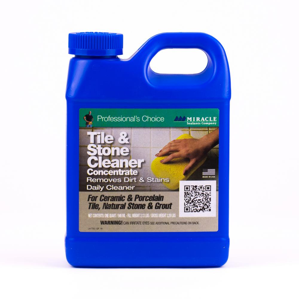 Miracle Sealants 32 oz Tile and Stone CleanerTSC QT  H