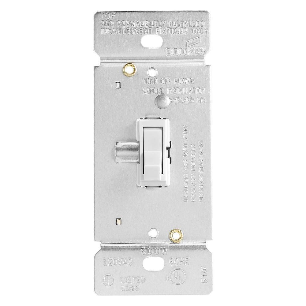 medium resolution of trace 600 watt dimmer with combination single pole 3 way unit white