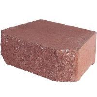 Pavestone 4 in. x 11.75 in. x 6.75 in. River Red Concrete ...