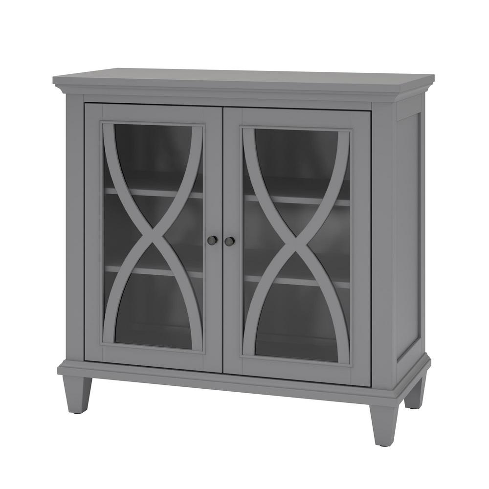 Ameriwood Satinwood Gray Storage CabinetHD65373  The Home Depot