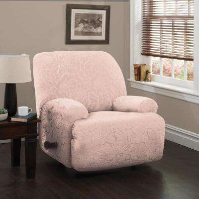 pink slipcover chair folding adirondack plan slipcovers living room furniture the home depot stretch floral jumbo recliner