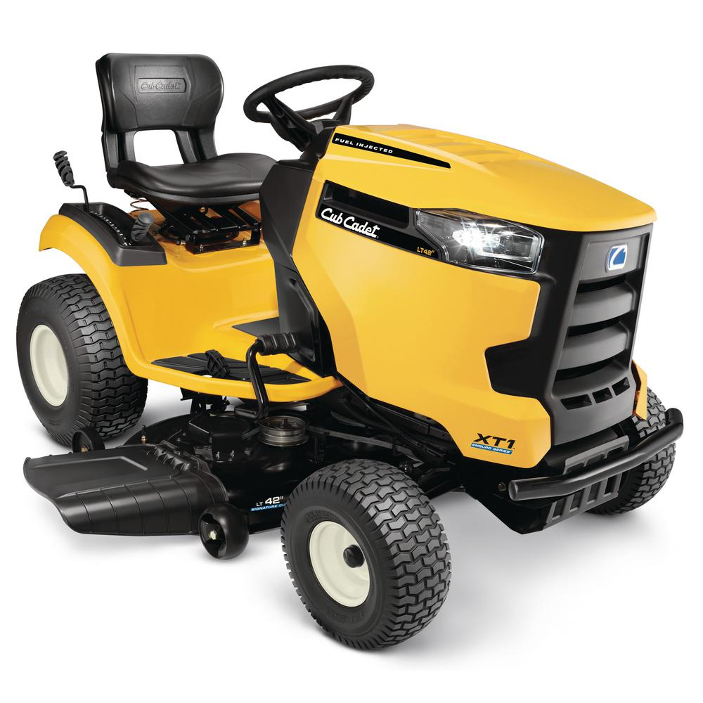 hight resolution of cub cadet lt 42 in 547cc fuel injected engine gas hydrostatic lawn rh homedepot com cub cadet mower wiring diagram cub cadet 50 inch mower