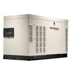 27 000 watt 120 volt 240 volt liquid cooled standby generator single phase with aluminum enclosure [ 1000 x 1000 Pixel ]