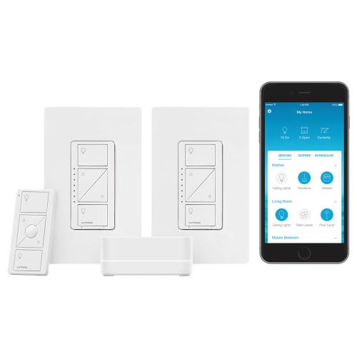 small resolution of lutron caseta wireless smart lighting start kit with pico remote andlutron caseta wireless smart lighting start