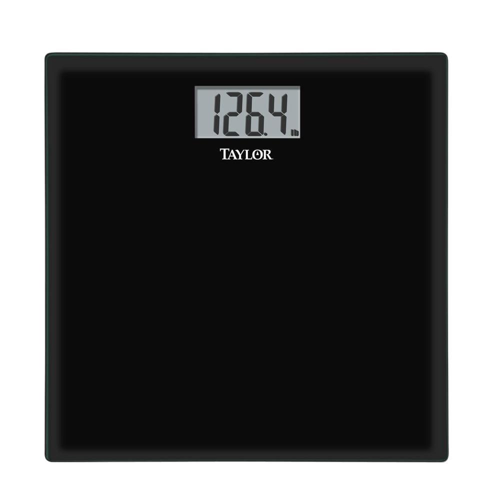 Taylor Glass Digital Scale in Black75584192B  The Home Depot