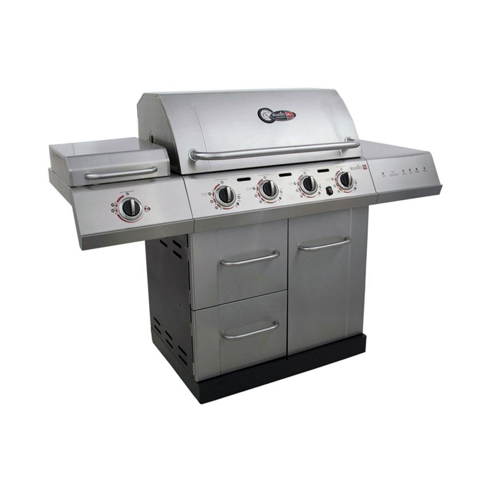 CharBroil Gourmet 4Burner TRUInfrared Propane Gas Grill