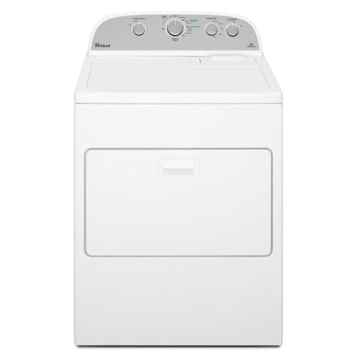 small resolution of whirlpool 7 0 cu ft 240 volt white electric vented dryer with wrinkle shield plus
