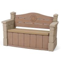 Step2 Outdoor Storage Patio Bench-5433KR - The Home Depot