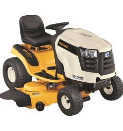 cub cadet ltx1050 50 in 24 hp v twin gas hydrostatic drive front engine lawn tractor [ 1000 x 1000 Pixel ]