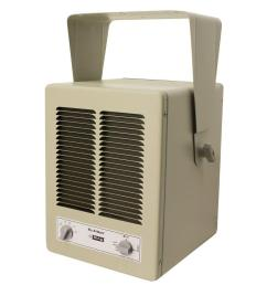 5700 watt 240 volt single phase paw garage portable heater with built in thermostat [ 1000 x 1000 Pixel ]