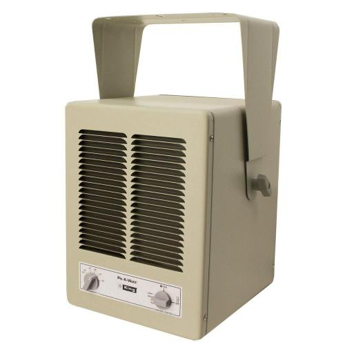 small resolution of 5700 watt 240 volt single phase paw garage portable heater with built in thermostat