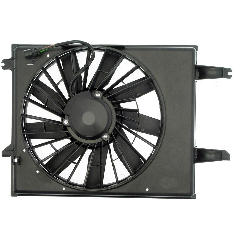 hight resolution of radiator fan assembly without controller 1996 1998 nissan quest