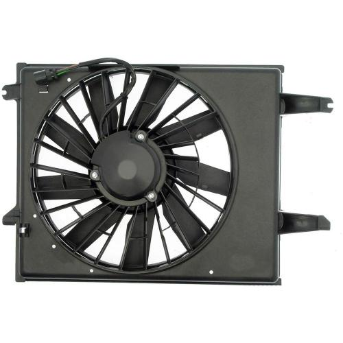small resolution of radiator fan assembly without controller 1996 1998 nissan quest