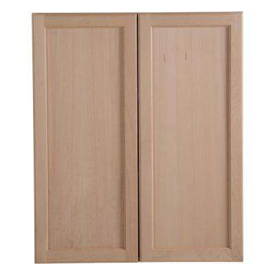 Unfinished Wood Kitchen Cabinets Kitchen The Home Depot