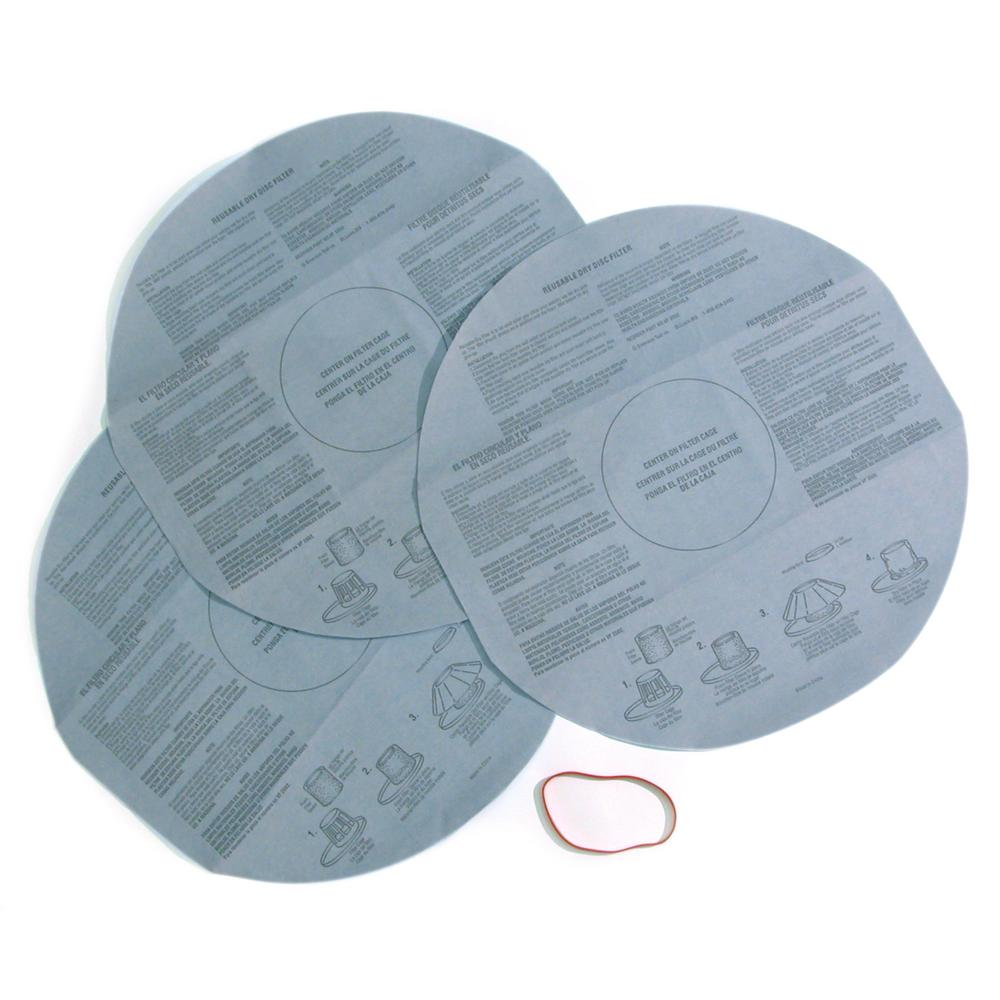 medium resolution of disposable filter for shop vac and genie wet dry vacs 36 pack