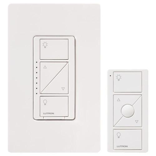 small resolution of caseta wireless smart lighting dimmer switch and remote kit for wall and ceiling lights white