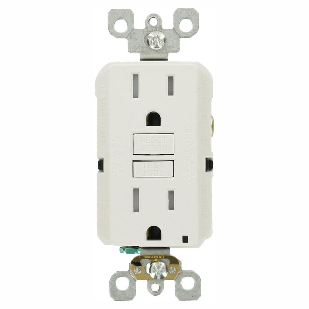 hight resolution of leviton 15 amp self test smartlockpro slim duplex tamper resistant wiring a switch gfci thin to other source