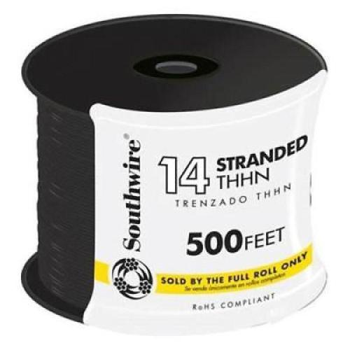 small resolution of 14 black stranded cu thhn wire