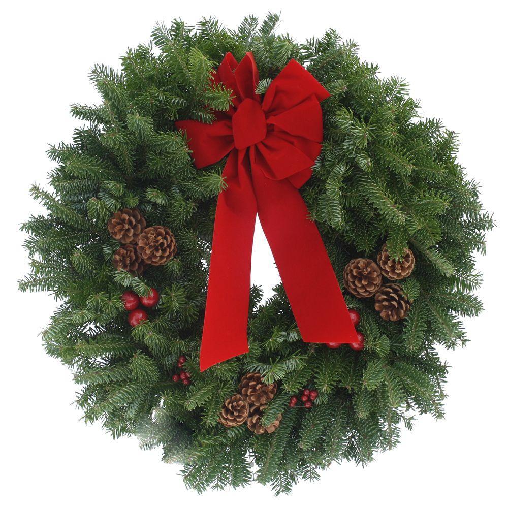 Fresh Wreaths Home Depot