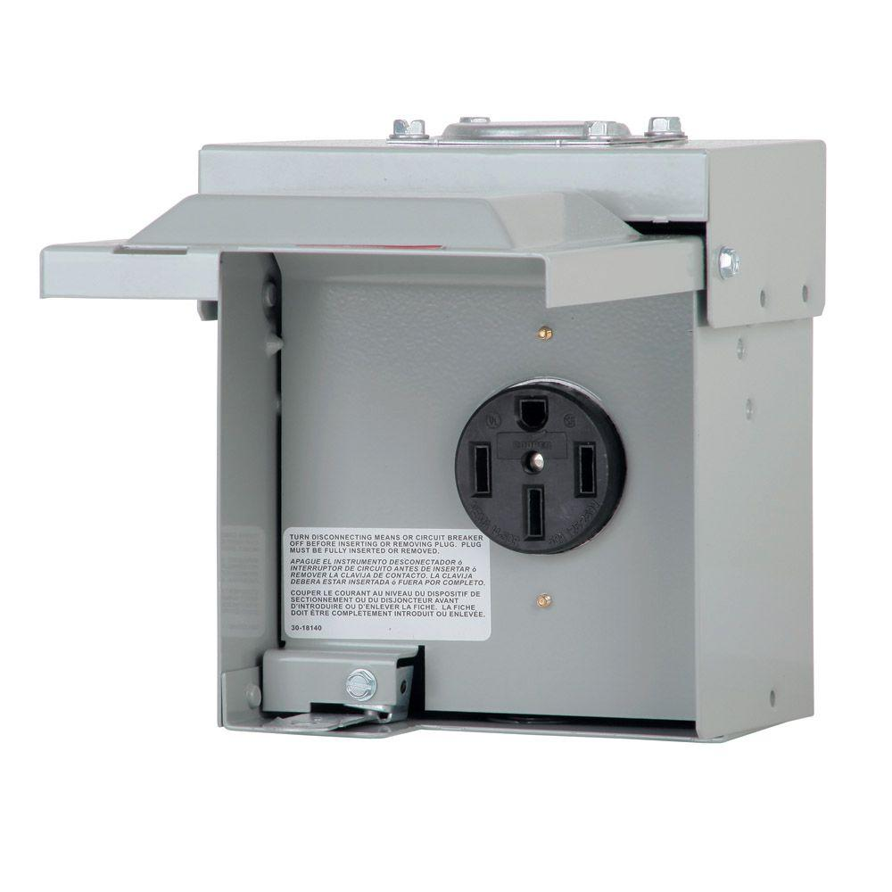 Eaton 30 Amp Rv Power Outlet Box Wiring