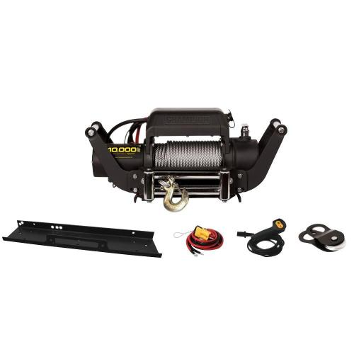 small resolution of 10 000 lb truck jeep winch kit with speed mount hitch adapter