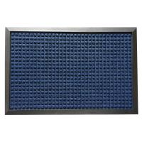 Rubber-Cal Nottingham Blue 24 in. x 36 in. Rubber Backed ...