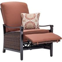 Outdoor Reclining Chairs with Cushions