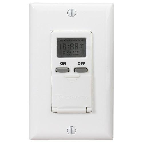 small resolution of intermatic 15 amp decorator auto off in wall digital timer