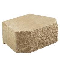 Pavestone 6 in. x 15.5 in. x 12 in. Tan Concrete Retaining ...