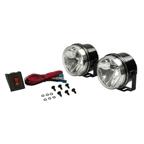 small resolution of blazer international 4 in led round high performance driving light kit