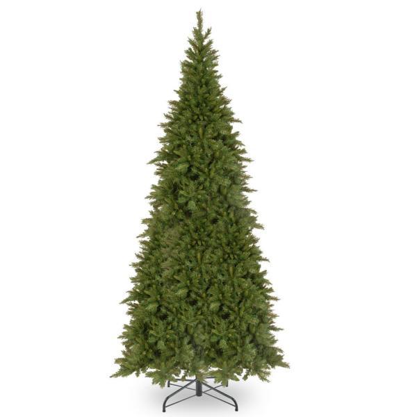 National Tree Company 12 Ft. Tiffany Fir Slim Artificial Christmas Tree-tfslh-120 - Home Depot