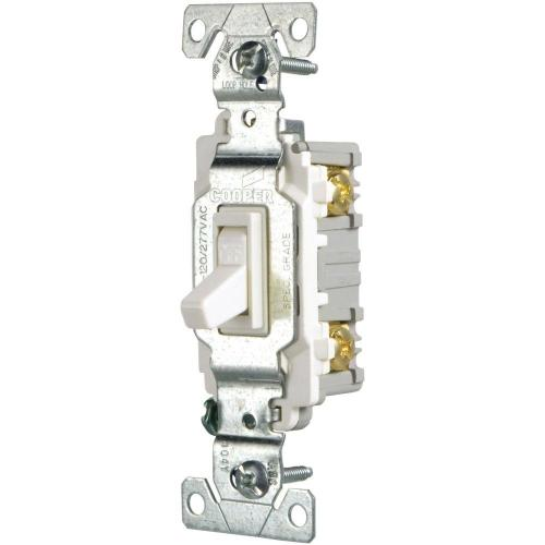 small resolution of eaton 15 amp single pole light switch white
