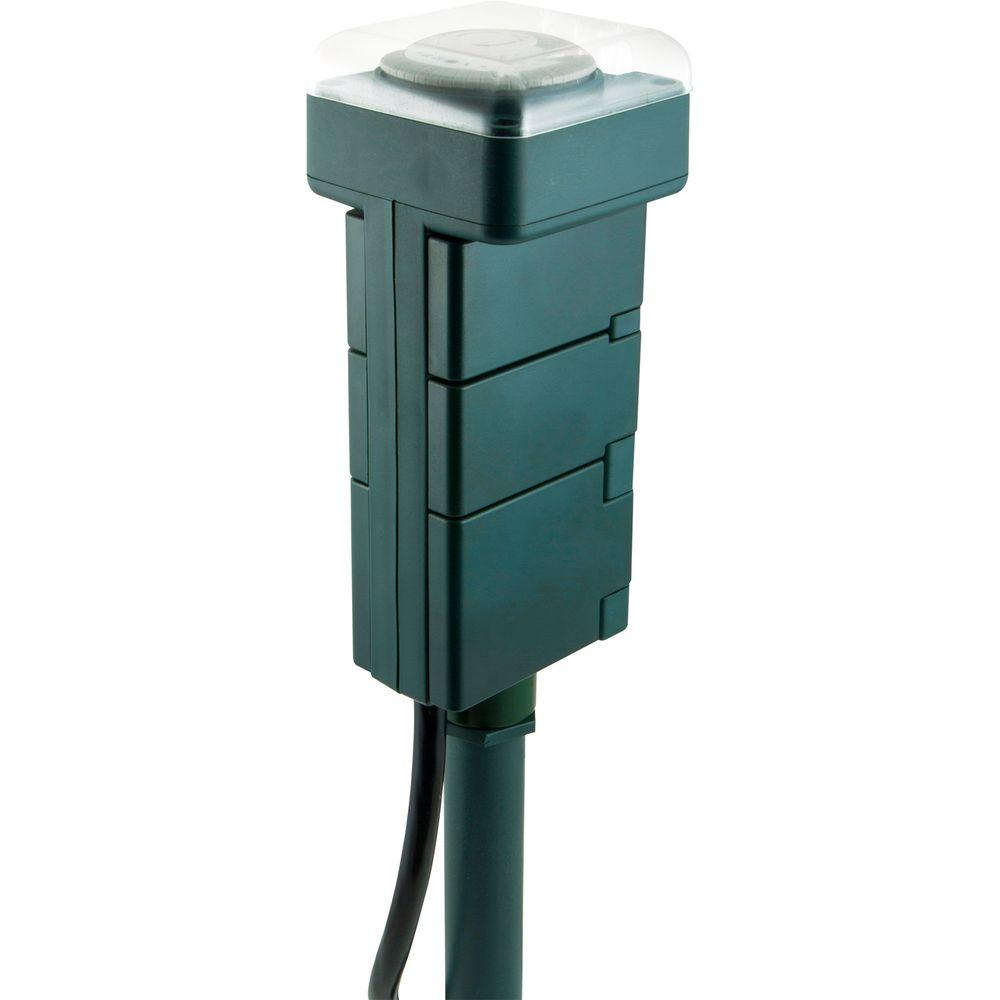 hight resolution of outdoor stake timer