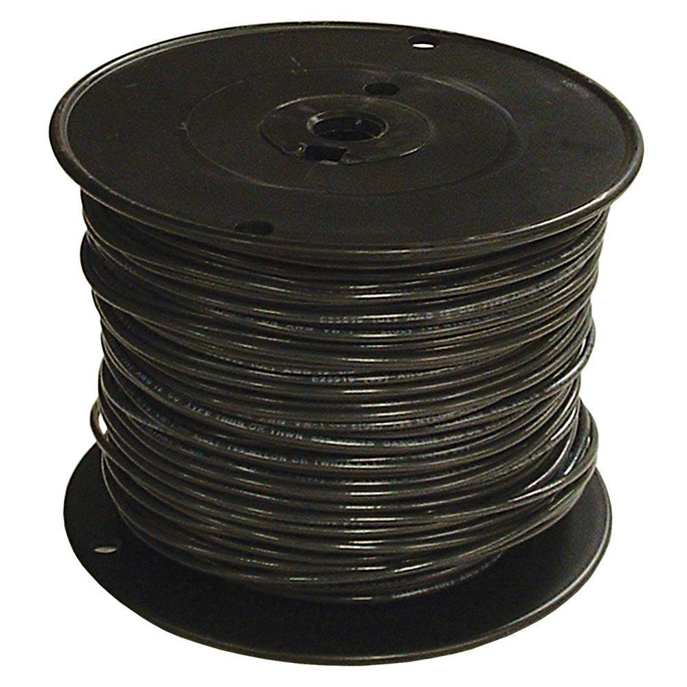Wiring White Black Copper