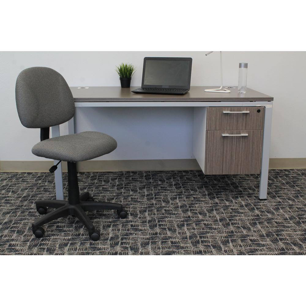 posture chair desk vanity table and grey deluxe b315 gy the home depot
