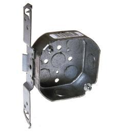 drawn octagon electrical box bracket [ 1000 x 1000 Pixel ]