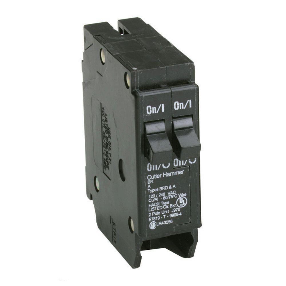 20 20 Amp Singlepole Tandem Circuit Breakerbr2020 The Home Depot