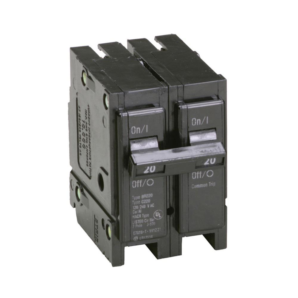 medium resolution of eaton br 20 amp 2 pole circuit breaker