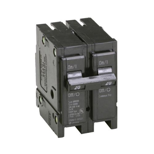 small resolution of eaton br 20 amp 2 pole circuit breaker