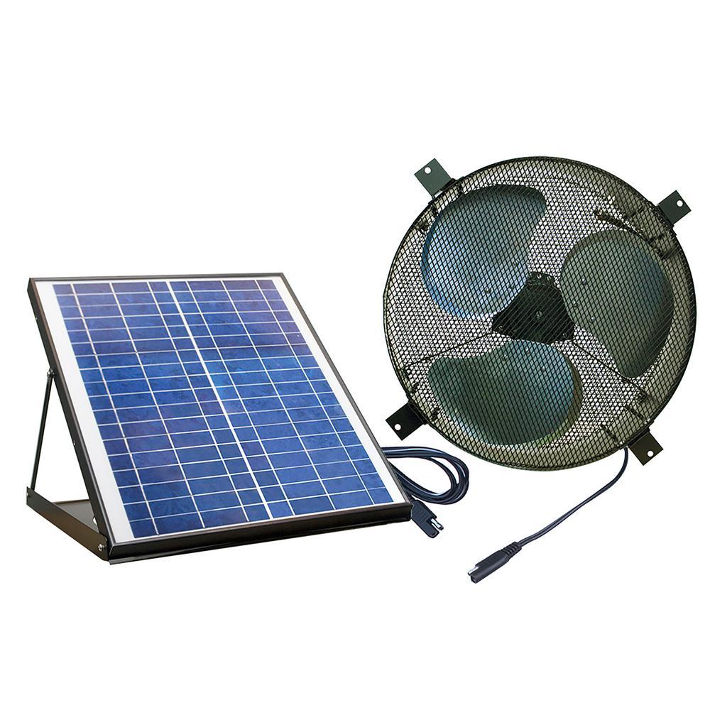 Nature Power Solar Powered 20Watt Polycrystalline Panel