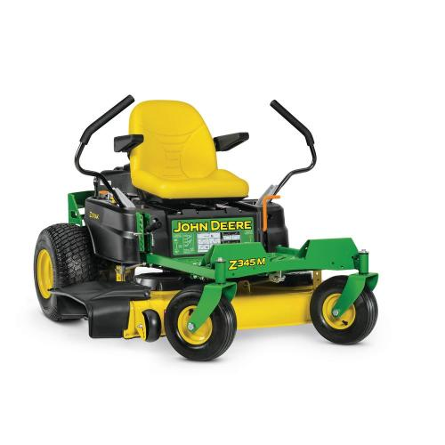 small resolution of john deere z345m 42 in 22 hp dual hydrostatic gas zero turn riding mower