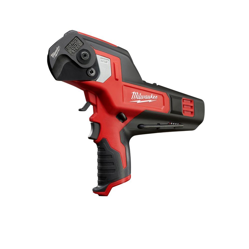 medium resolution of milwaukee m12 12 volt lithium ion cordless 600 mcm cable cutter tool