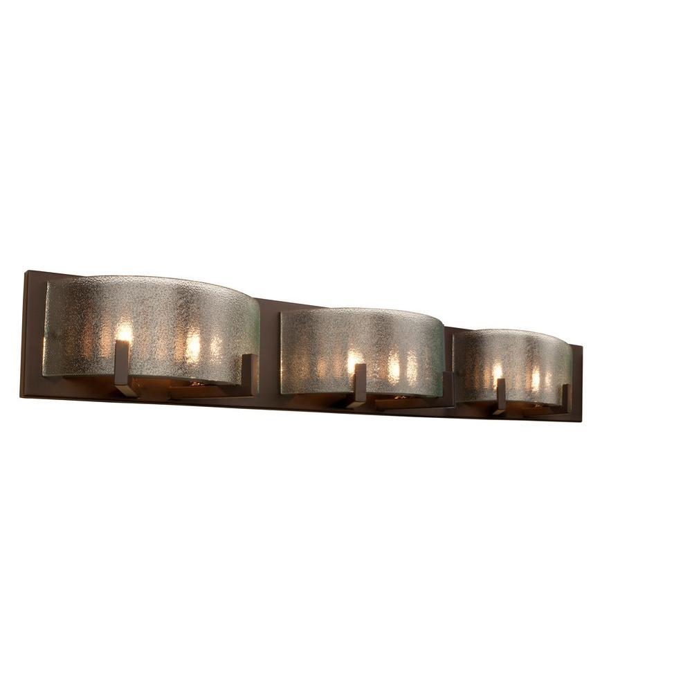 Varaluz Firefly 6 Light Bronze Bath Light 611240 The Home Depot