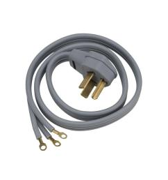 ge 6 ft 3 prong 30 amp dryer cord wx09x10004ds the home depot walmart 3 prong [ 1000 x 1000 Pixel ]